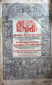 Biblia germanica. Cologne (Кельн) 1582