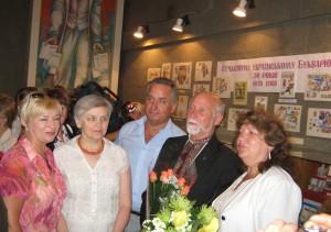 2008 вересень_Відкриття виставки Сучасному українському Букварю - 30 років