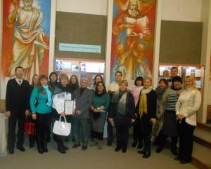 Учасники відкриття виставки