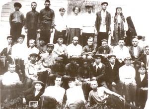 Куцеволівка, 1930р. Третій зліва внизу - Т.М. Шашло