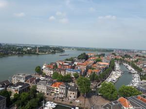 Вид на місто з церковної вежі